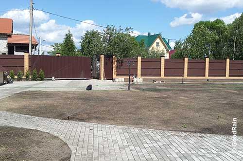 Автополив фото Клязьма