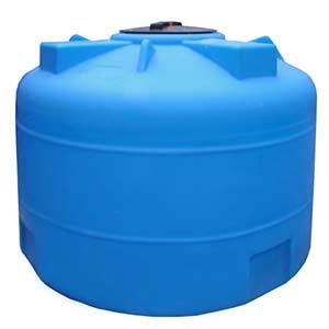 Емкость 3000 литров круглая