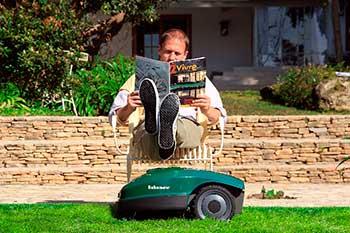Робот газонокосилка